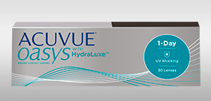 ACUVUE OASYS® 1-DAY WITH HYDRALUXE™ TECHNOLOGY