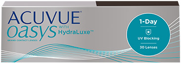 75aed507e53f9 ACUVUE OASYS® 1-DAY WITH HYDRALUXE™ TECHNOLOGY